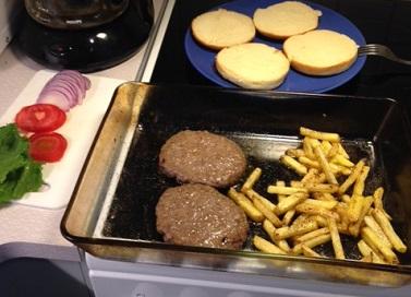 Dagens middag! :D
